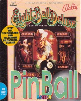 CD cover Eight Ball Deluxe Pinball