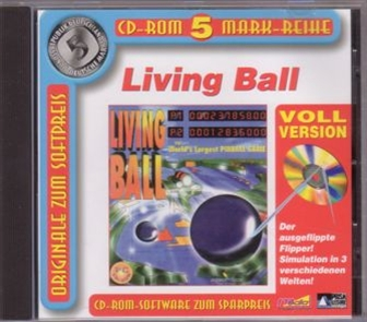 CD cover Living Ball