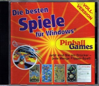 CD cover Pinball Games for Windows