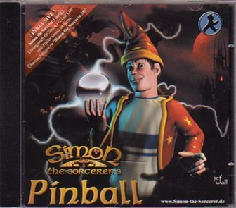 CD cover Simon Pinball