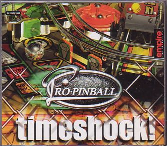 CD cover Timeshock