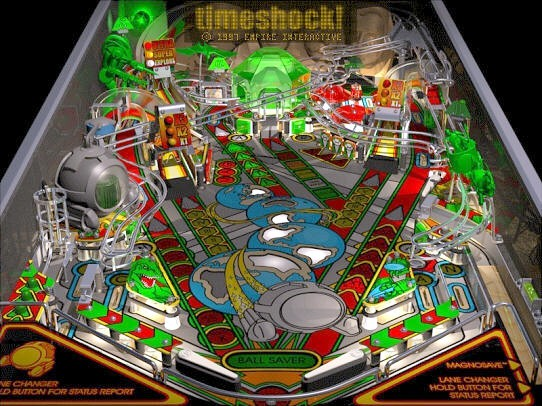 playfield of timeshock